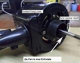 stand fan repair