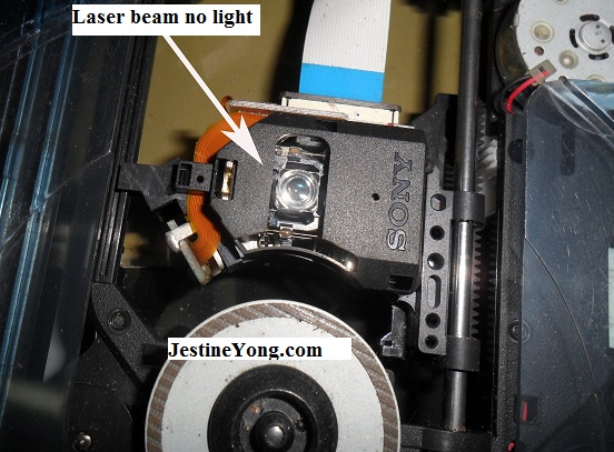 laser lens dvd not working