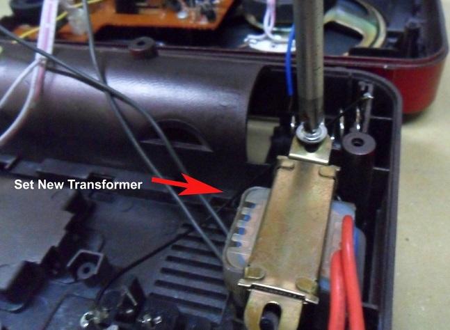 install transformer