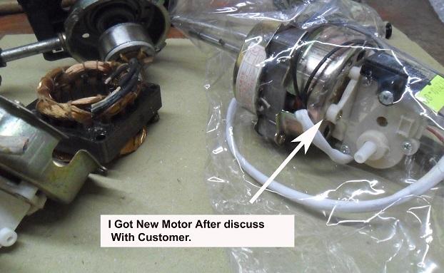 replace fan motor