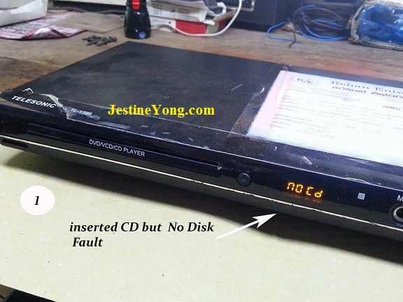 DVD player repairing