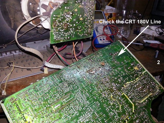 Hitachi 14 U0026quot  Crt Tv Repair