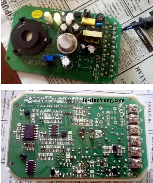 Faulty MQ2 Sensor In Gas Detector   Electronics Repair And
