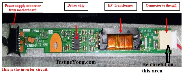 laptop inverter wiring diagram laptop image wiring acer aspire 5734z back light problem repaired electronics repair on laptop inverter wiring diagram