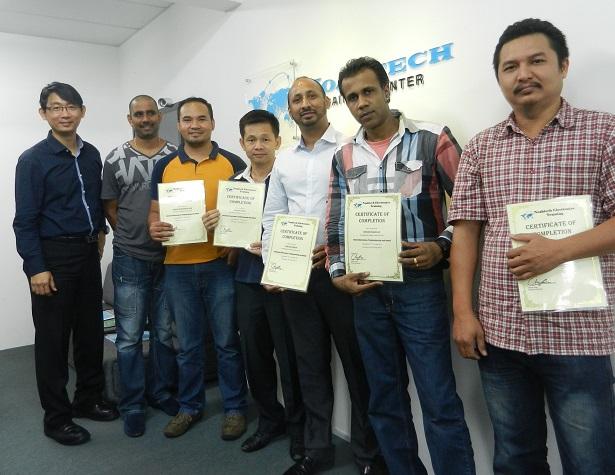 certificate repair course malaysia