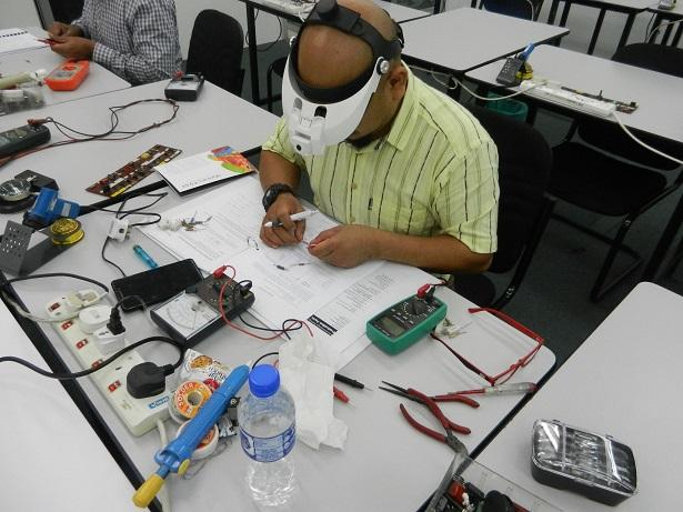 kursus membaiki elektronik