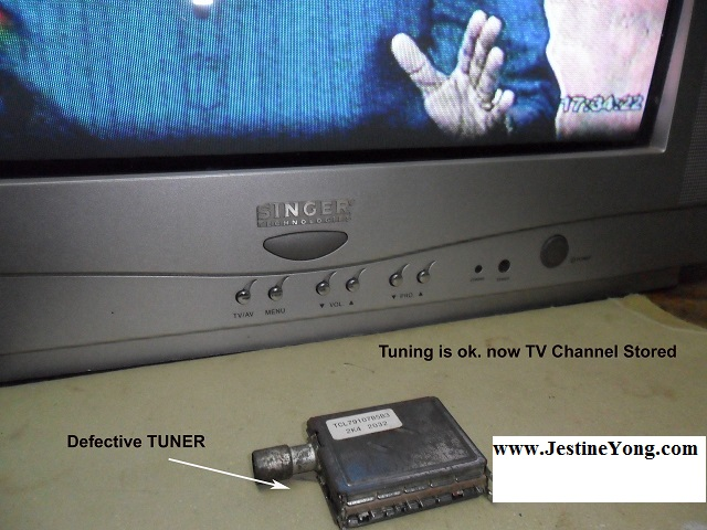 No Tuning and Channel Stored In TV Solved | Electronics Repair And