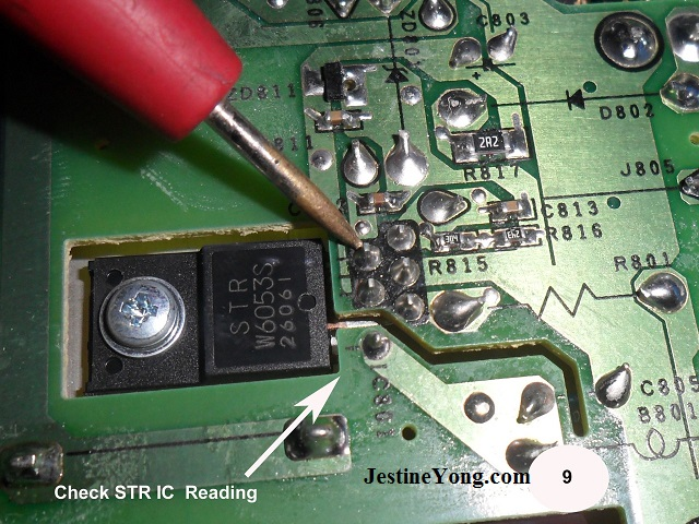 No power in toshiba led tv repaired electronics repair and tv4 cheapraybanclubmaster Images