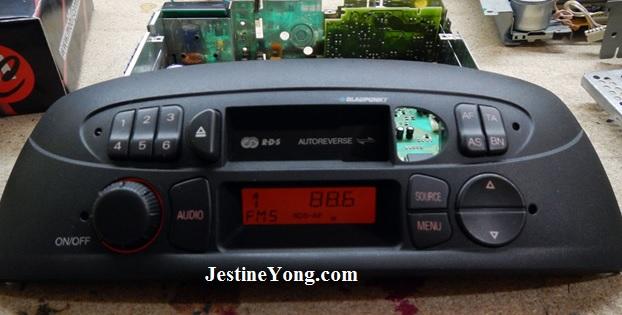 repair radio fiat