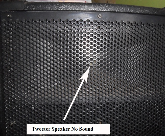 repair tweeter speaker