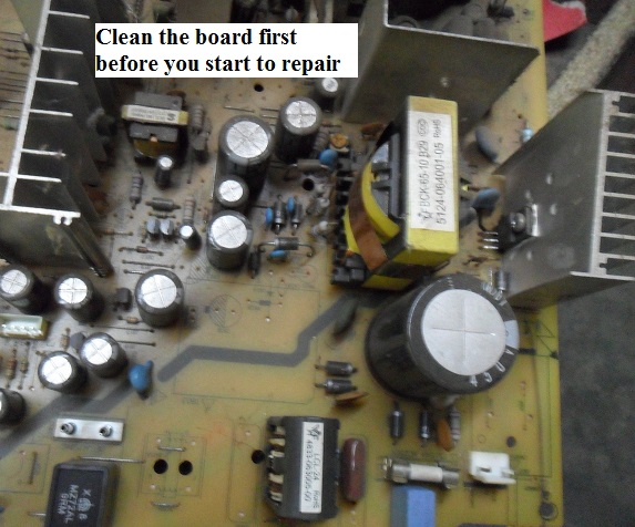 No Power In Philips CRT TV Repaired | Electronics Repair And