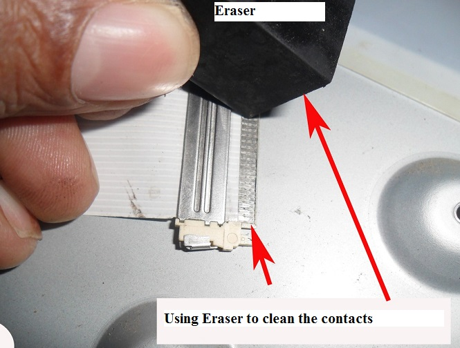 eraser repair contact