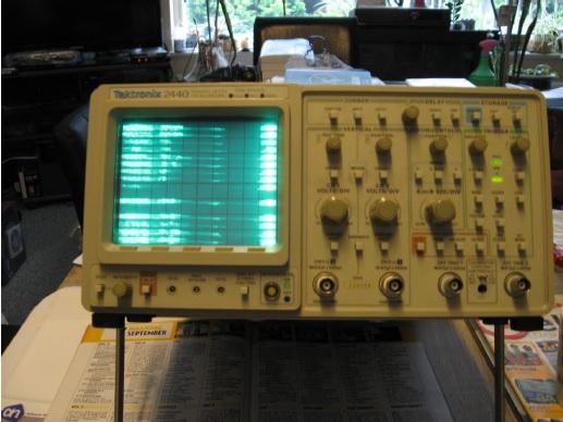 repair tektronix oscilloscope