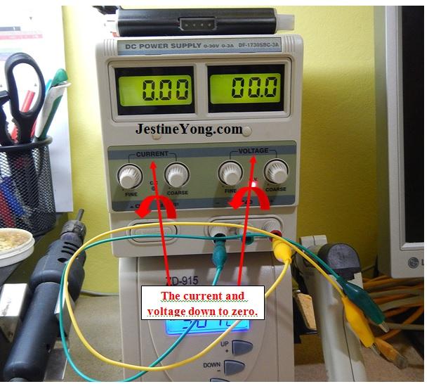 zener diode testing