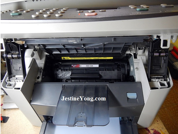 hp paper jammed