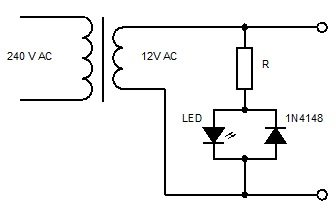 led for ac voltage