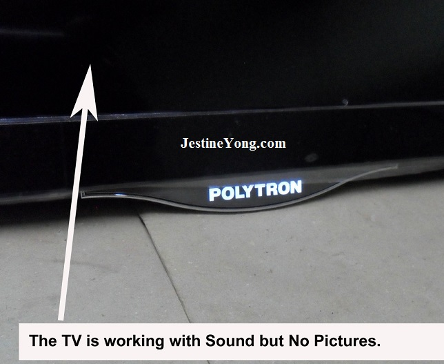 repair polytron led tv