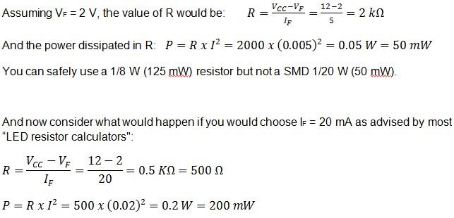 led formula