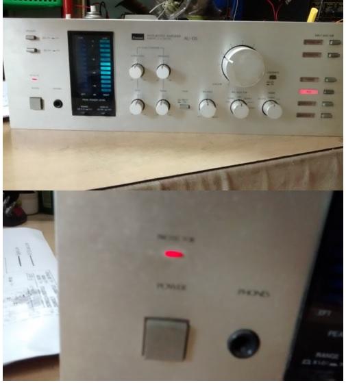 integrated amplifier repair