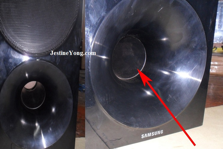 samsung subwoofer repair