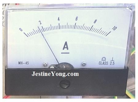 ammeter repair