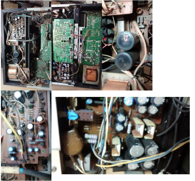 sansui amplifier repair