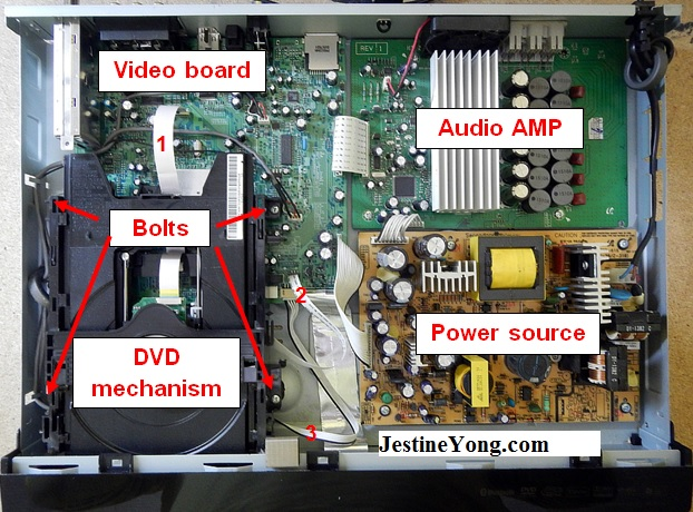 repair samsung dvd player