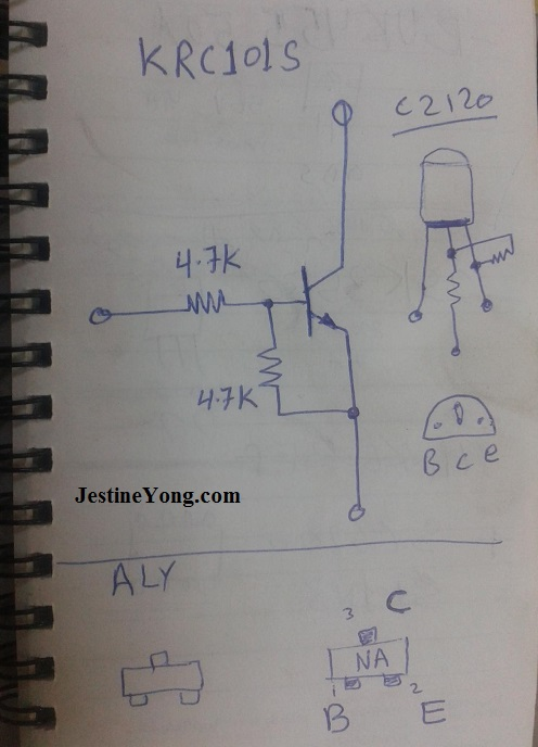 transistor modification circuit