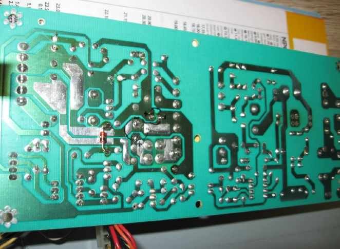 dvd player circuit board
