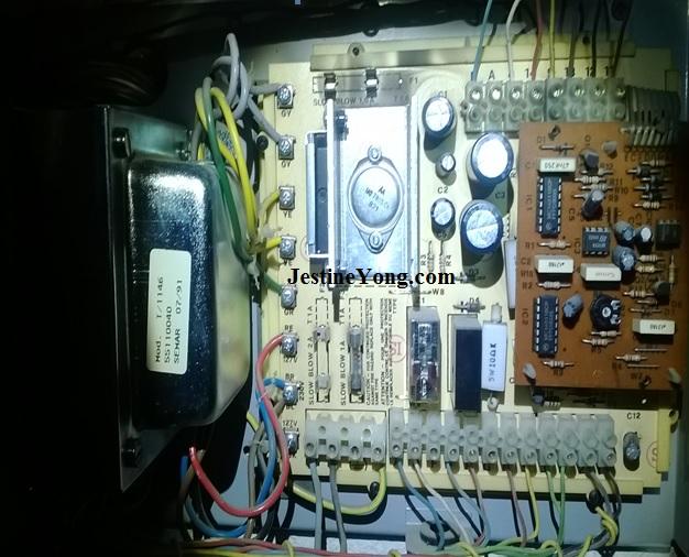 intercom pcb repair