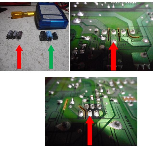 cold solder joints