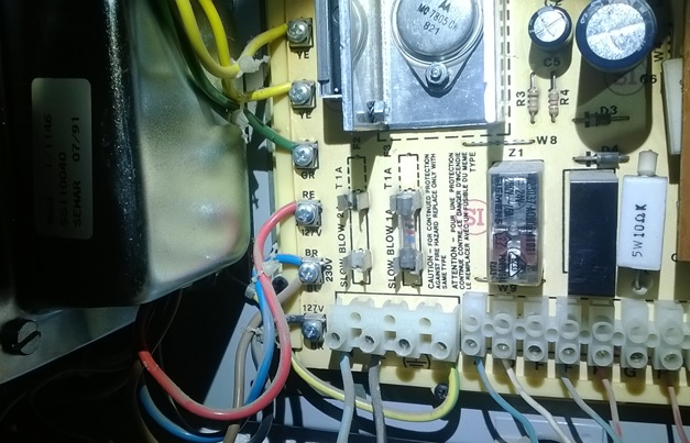 REPAIR INTERCOM