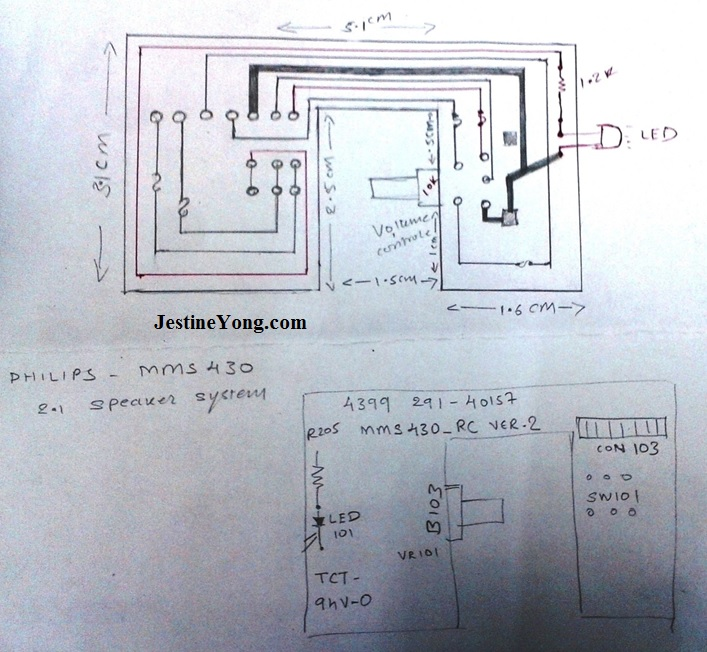 pcb schematic drawing