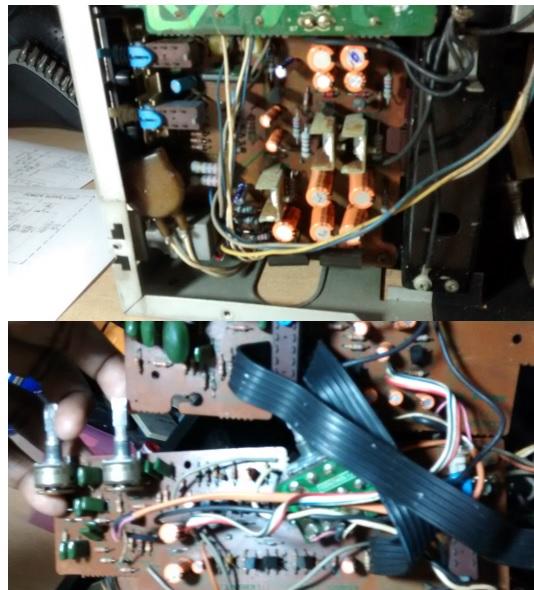 sansui amplifier board