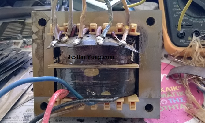 REPAIRING INTERCOM