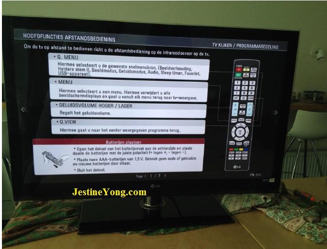repairing lg led tv