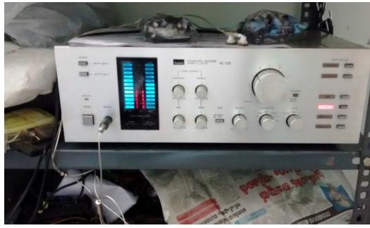 Sansui AU-D5 Integrated Amplifier repair