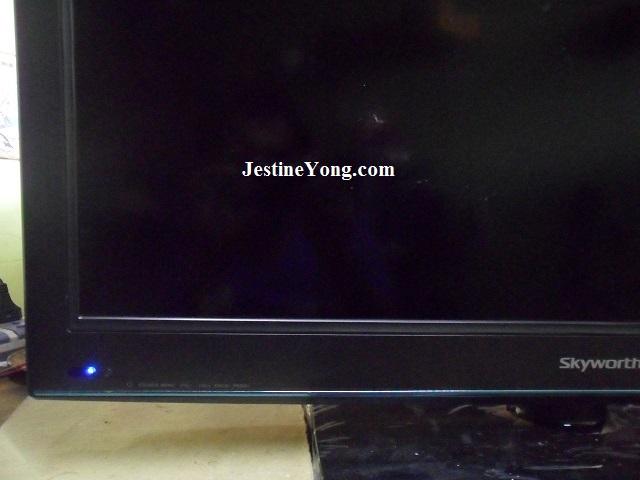 """Singer 32"""" Skyworth LED TV With Dim Display Repair"""