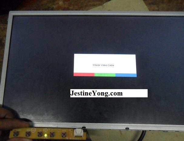 testing lcd monitor