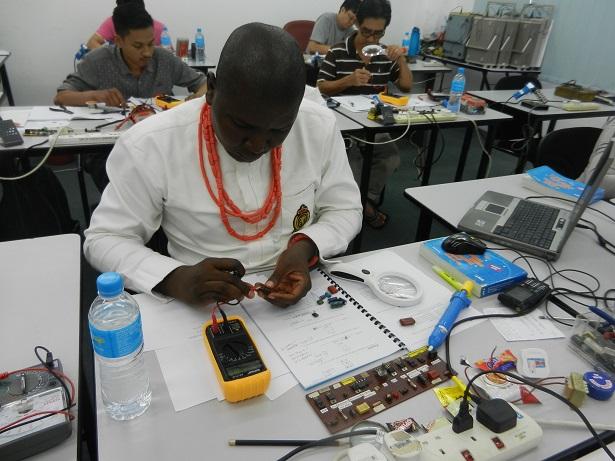 electronics repair Nigeria student