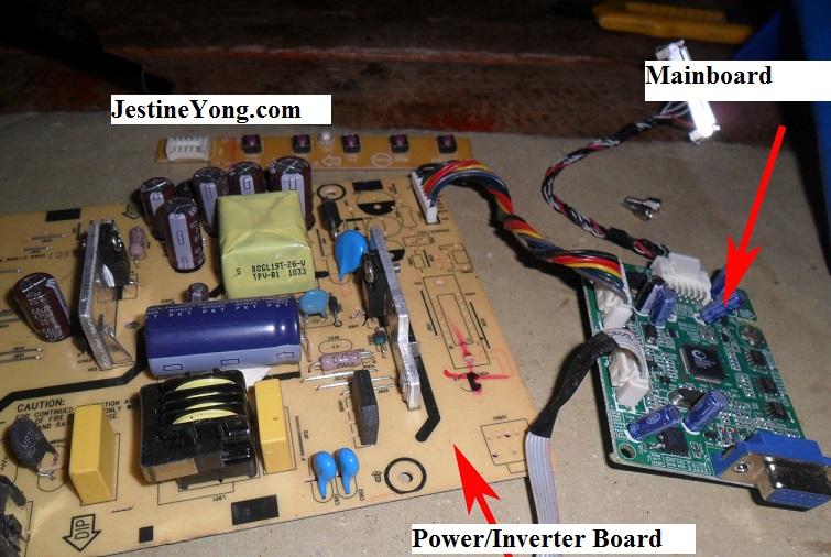 lcd monitor power board