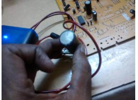 check capacitor