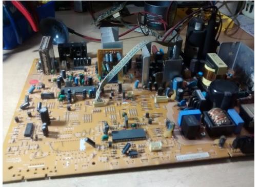 crt tv board repair