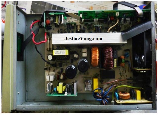 riello ups circuit board