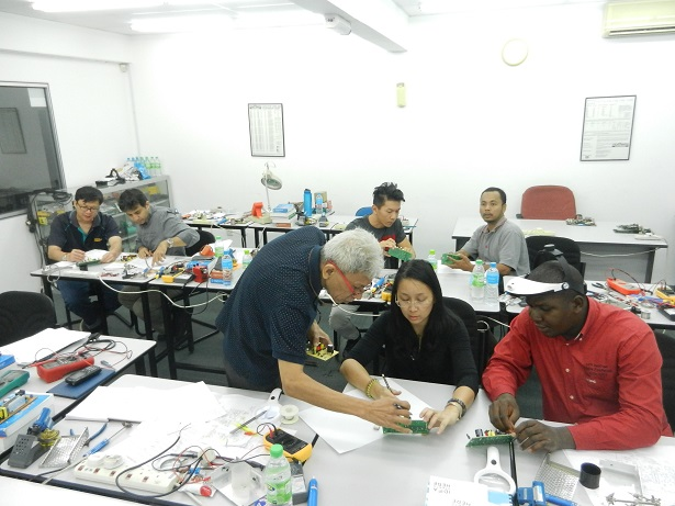 electronic repair training