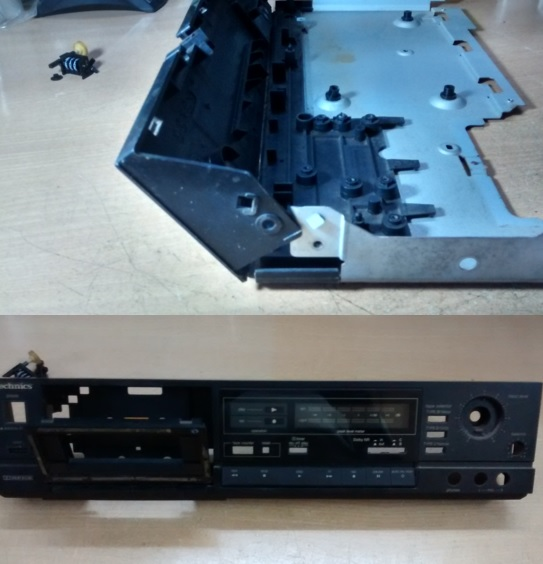 No play in Technics RS-B305 Tape Deck solved