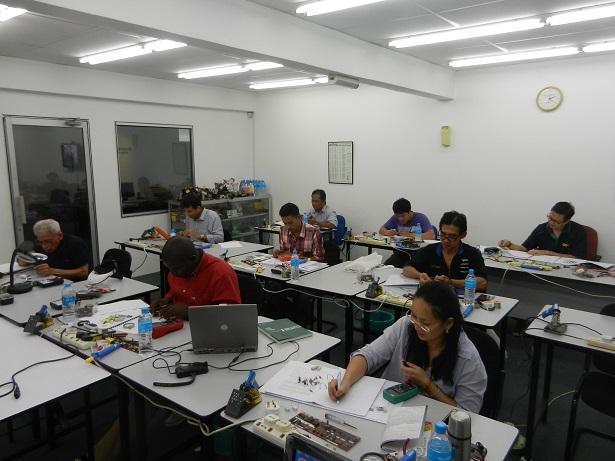 repairing electronic courses