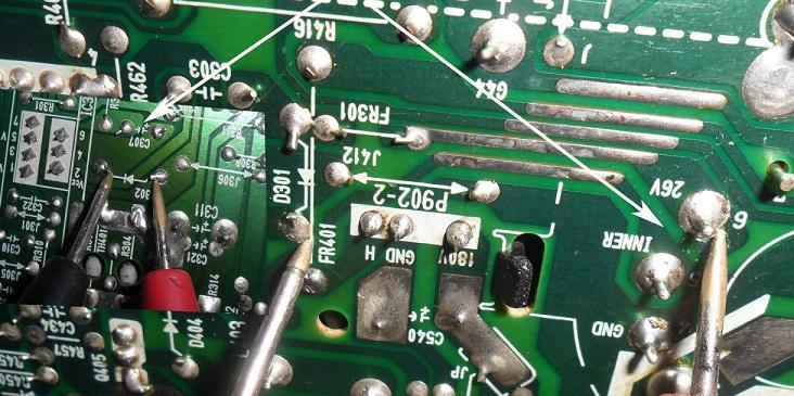 clean soldering
