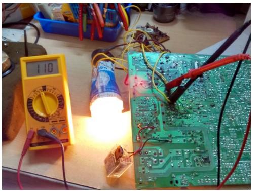 light bulb test