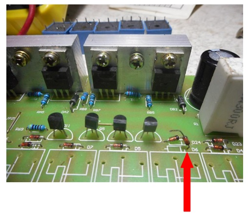 transistor in ups